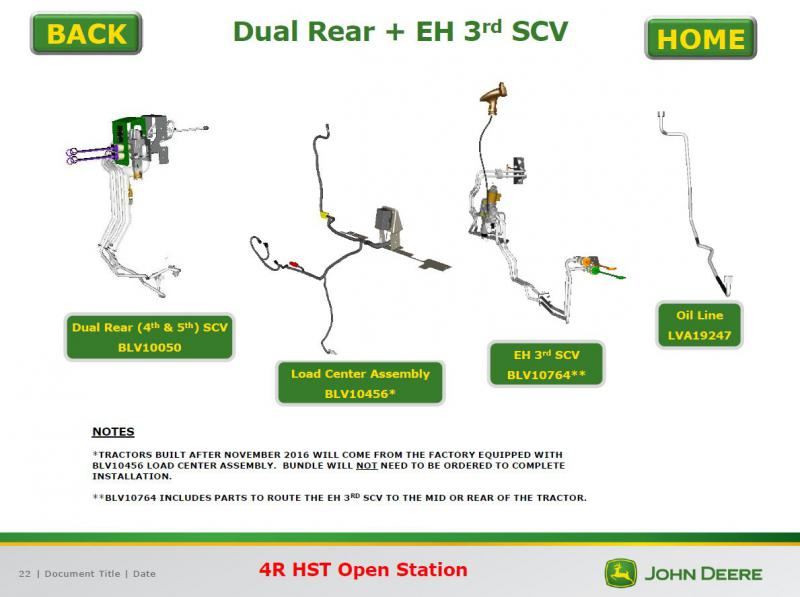 Do The 4044r  4052r And 4066r Come Standard With 3rd  4th
