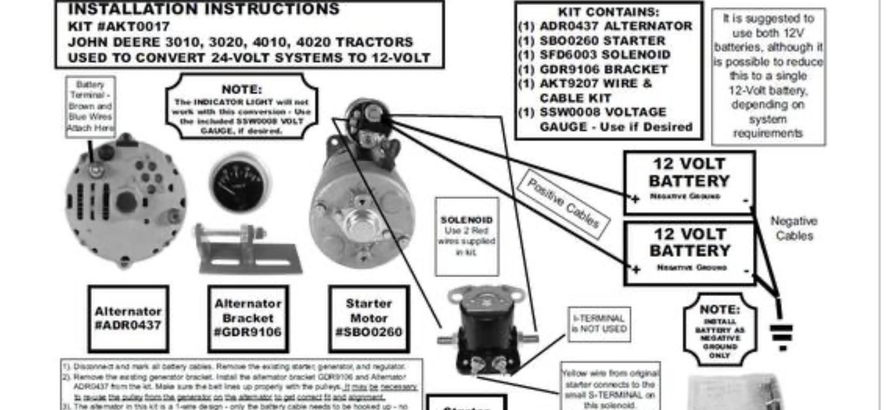 4020 Rewire Help Green Tractor Talk