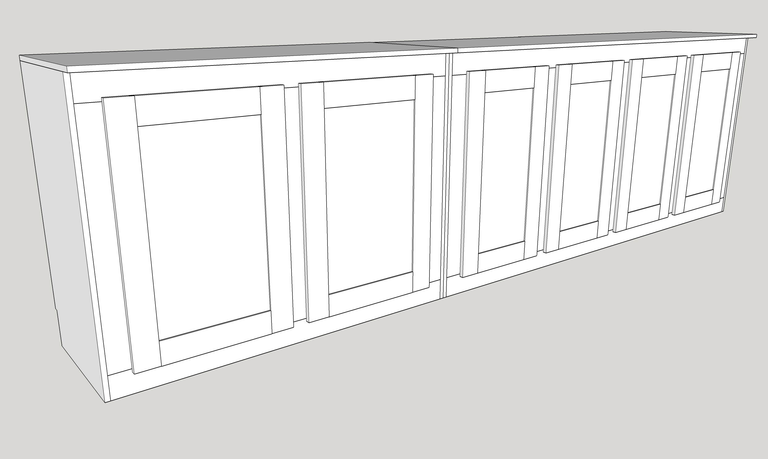 Click image for larger version.  Name:Garage Kitchen Gadget Cabinet - New 1.jpg Views:13 Size:475.3 KB ID:335266