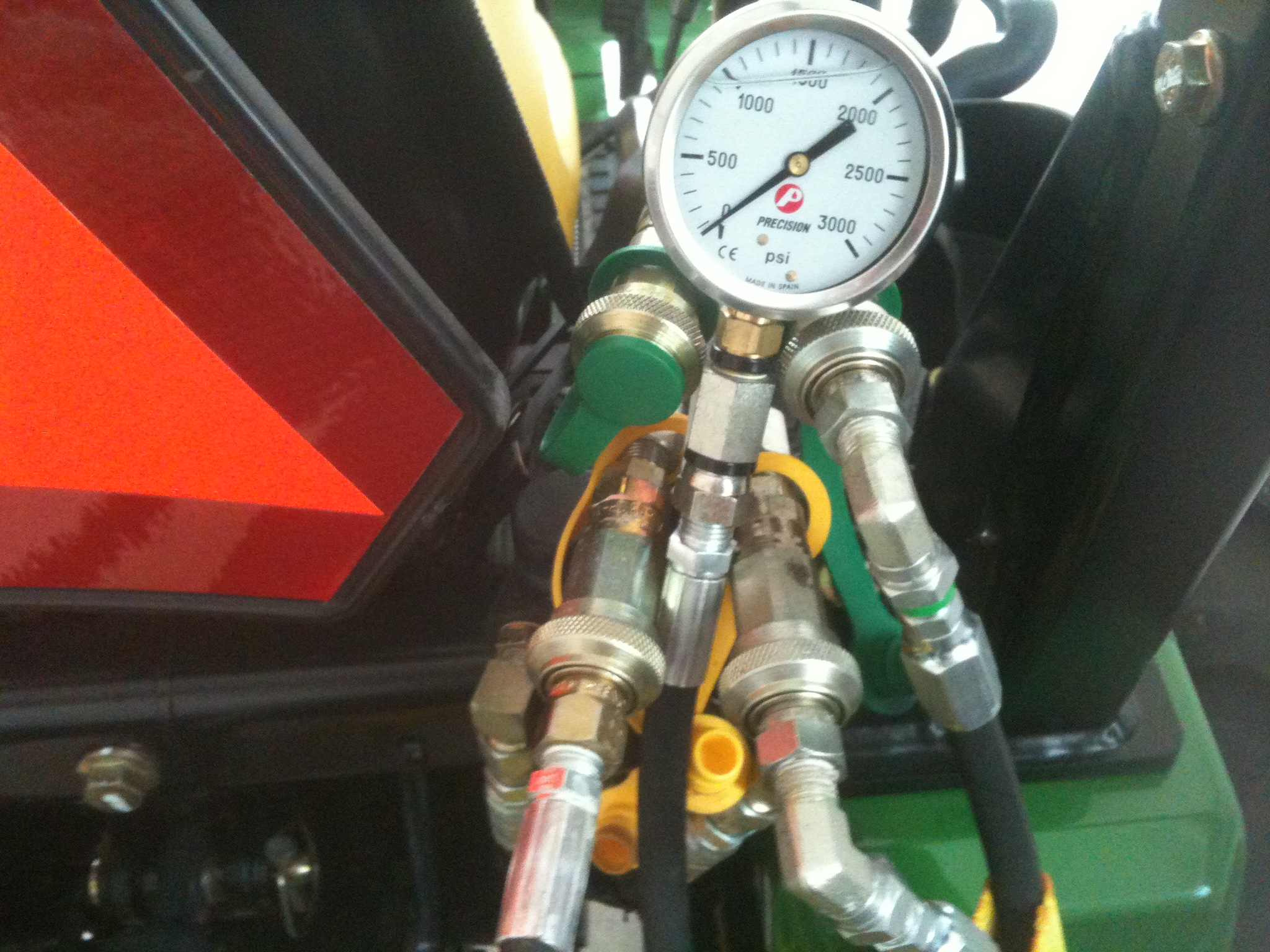 Checking/Verifiying the Hydraulic Pressure on your Tractor
