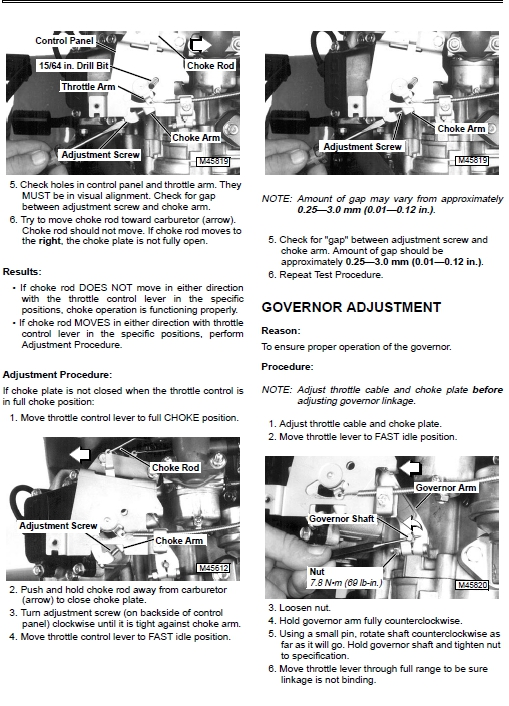 JD LX188 Governor Issue? Too High RPM - MyTractorForum com