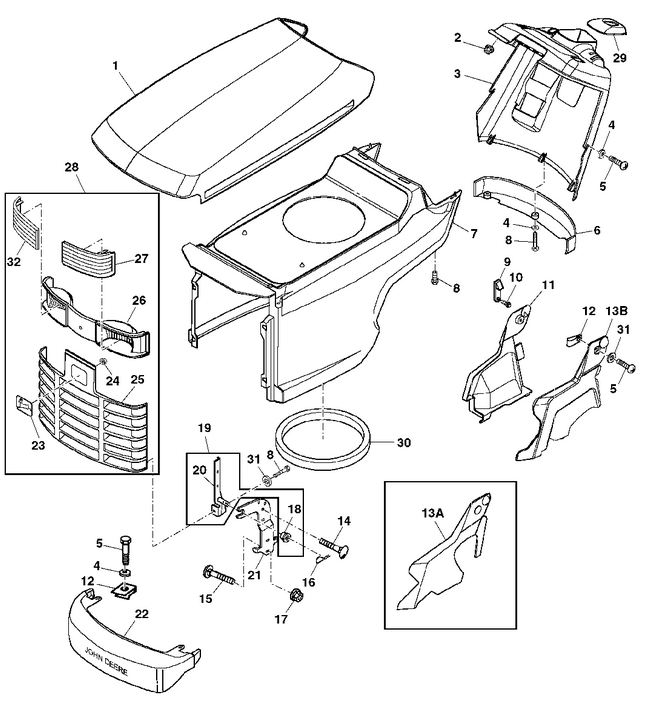 488429522059877739 further John Deere 48 Mower Deck Parts Diagram together with John Deere 400 Pto Diagram further John Deere 826 Snowblower Parts Diagram furthermore 59lrt 1994 Lx176 Just Died One Day Checked. on john deere f911 wiring diagram
