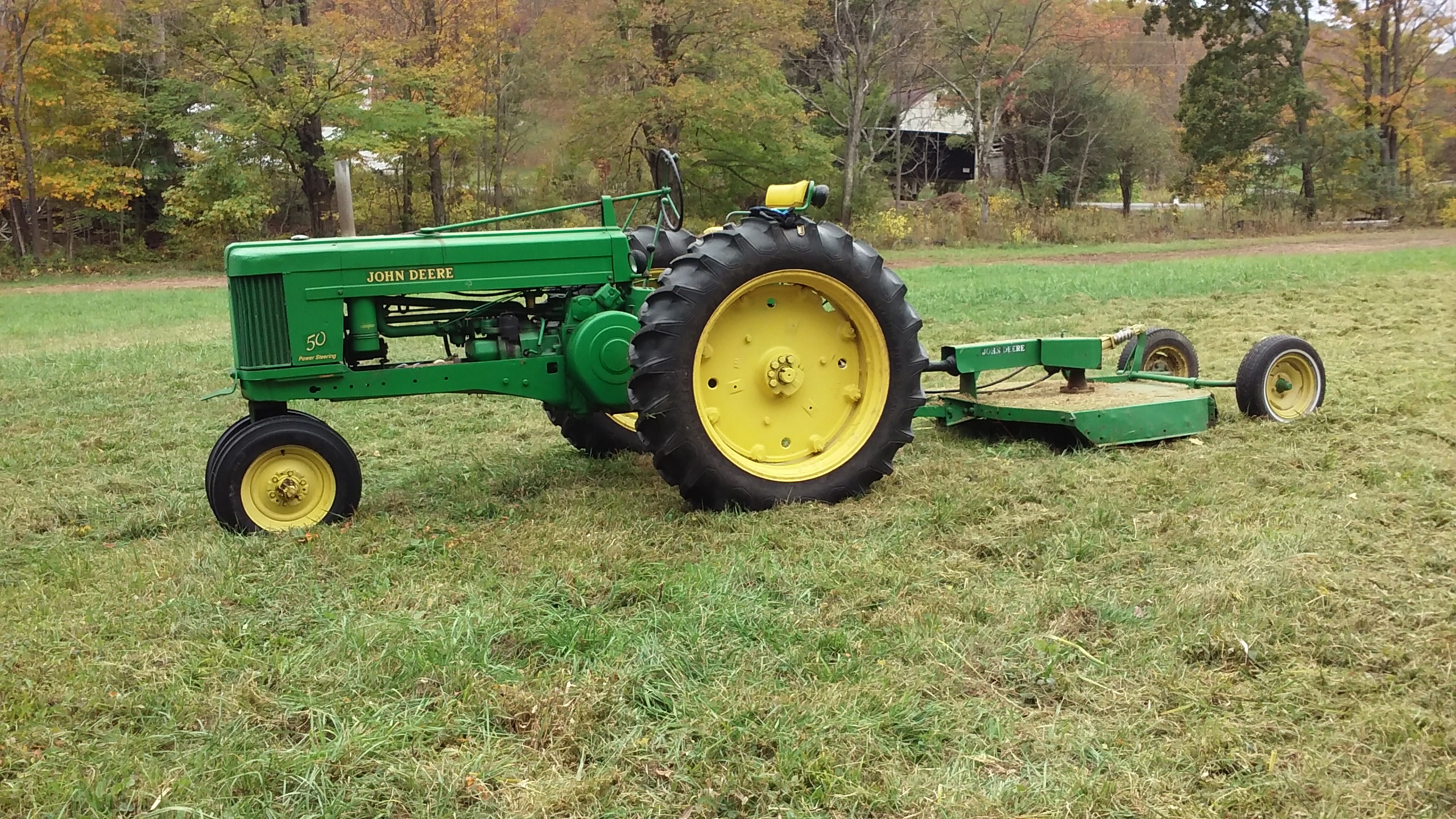 Click image for larger version.  Name:had my jd model 50 out some today-10-6-17.jpg Views:14 Size:1.99 MB ID:465850