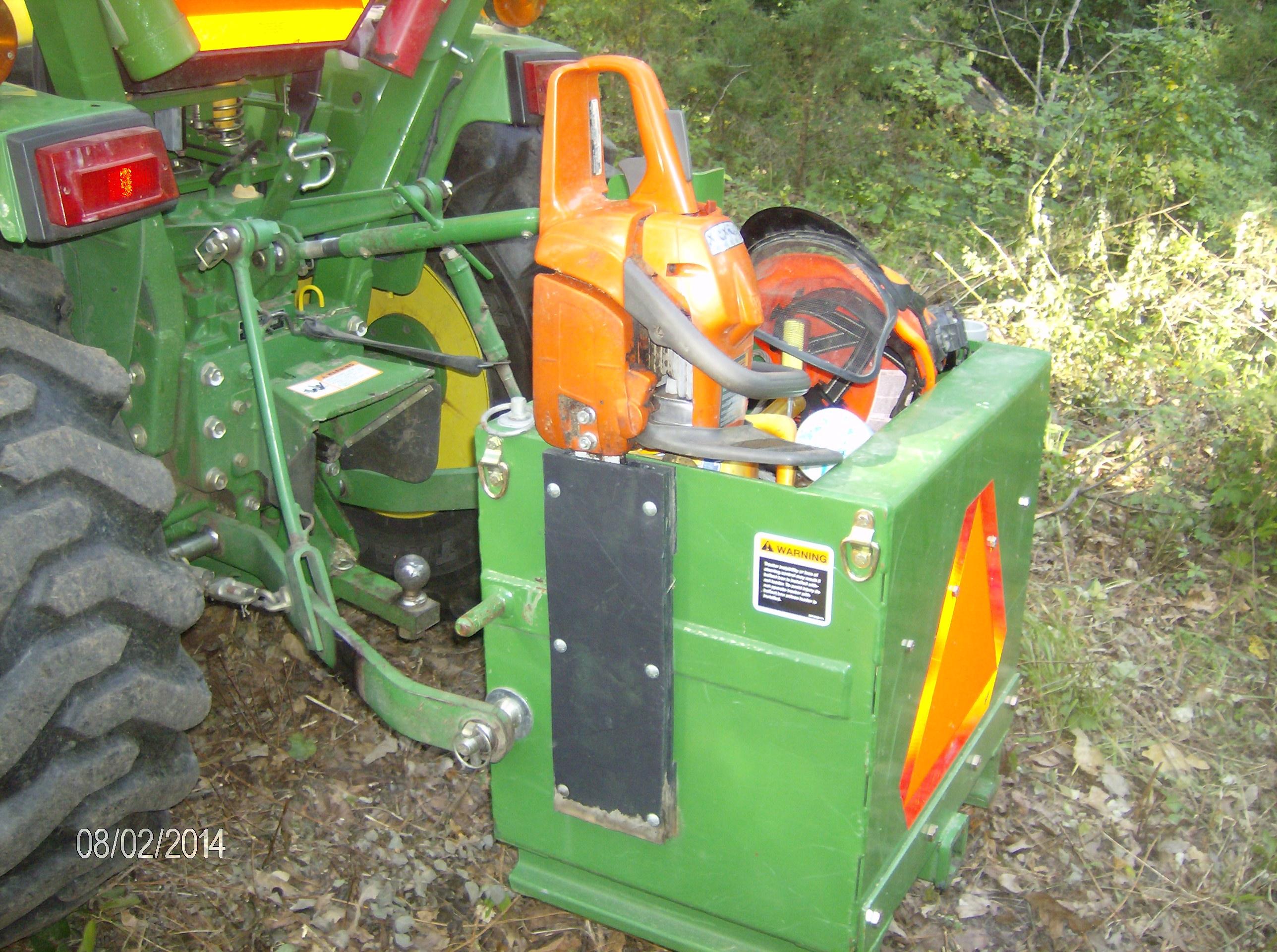 Tractor Ballast Box : Jd ballast box question page
