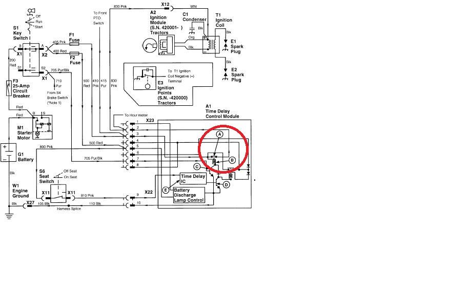 Jd Lx188 Pto Switch Wiring Diagram. Jd L130 Wiring-diagram