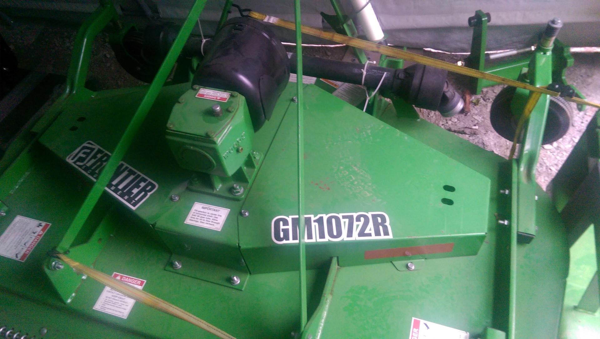 Brand new Frontier GM1072R finish mower
