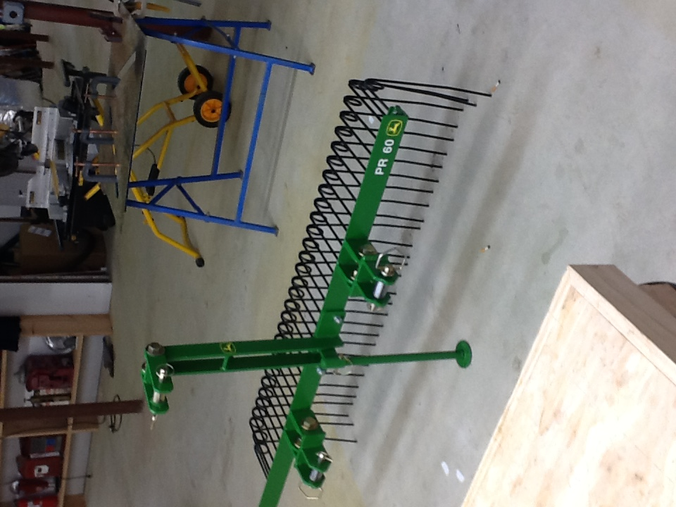 Making Everything Attachments Pine Needle Rake Quick Hitch