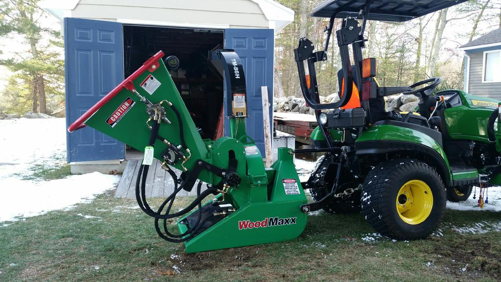 Wood Chipper For 1025r