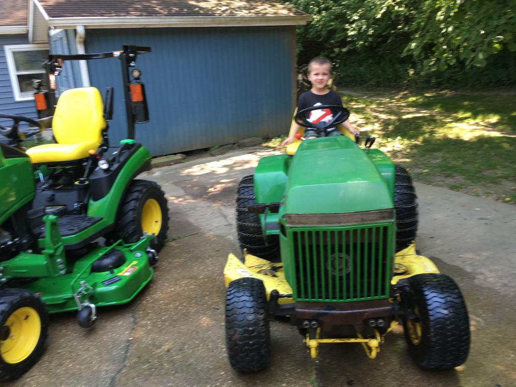 Post Your Vintage John Deere L Amp G Tractor Here Page 25