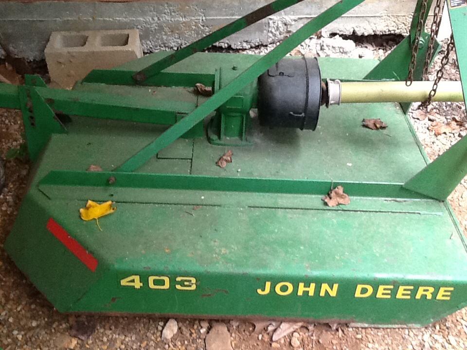 Jd 403 Rotary Cutter