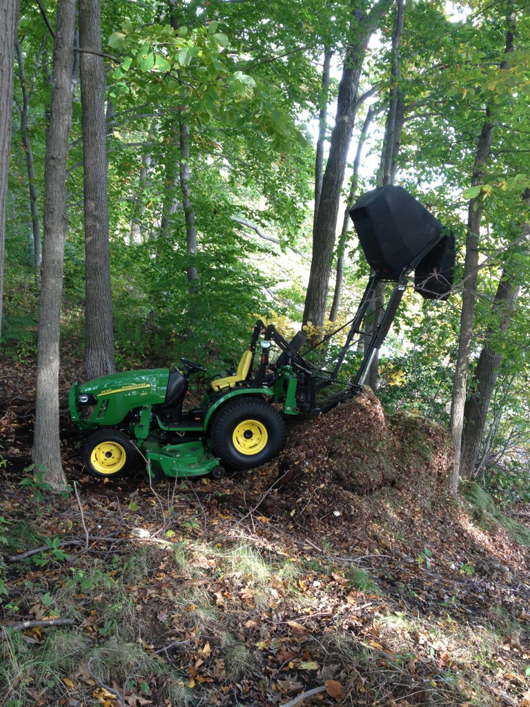 Cyclone Rake For Sale >> Anyone have a bagger on a 2520 or similar?