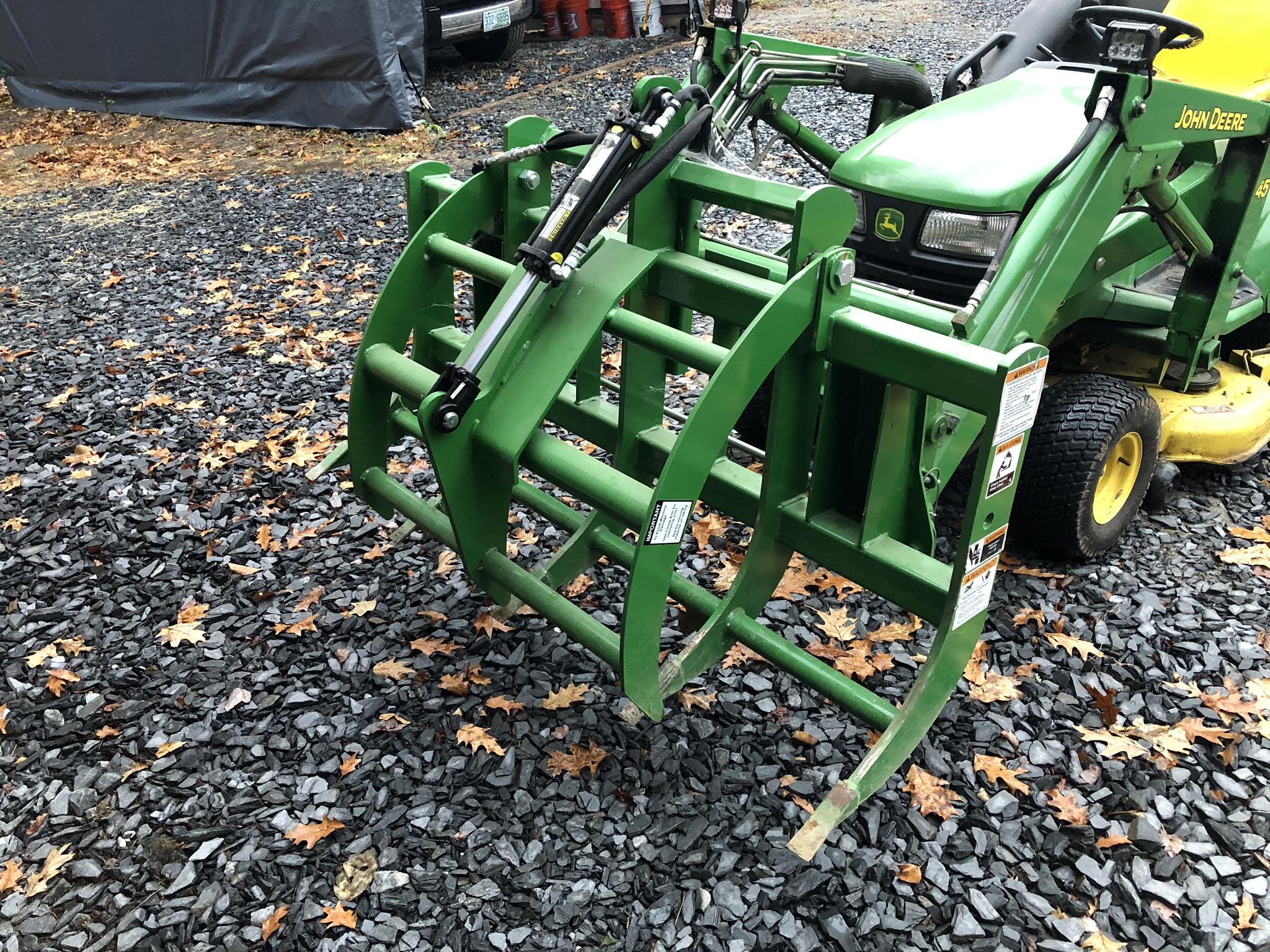 Brand New John Deere / Frontier AV20H Root Grapple Charlestown, NH