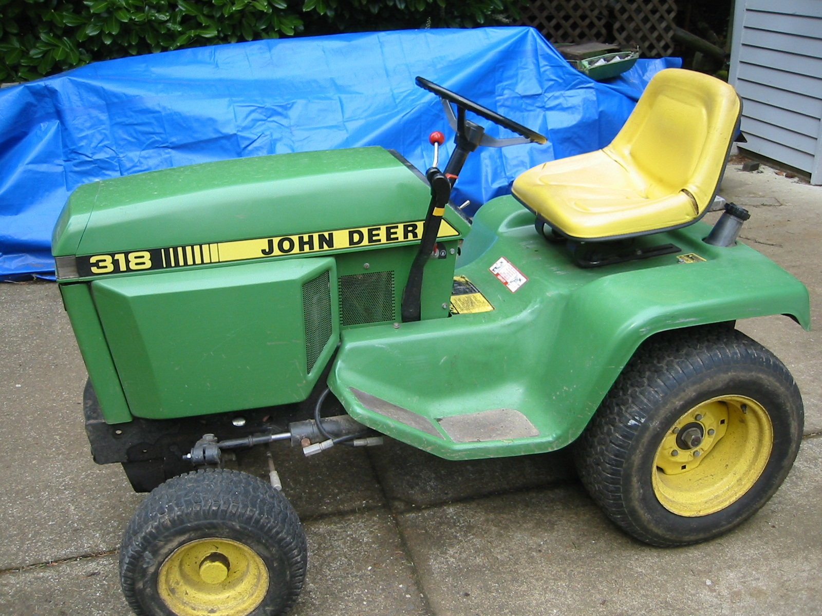 Fair price for JD 318 with Onan B43G Motor (Canada)