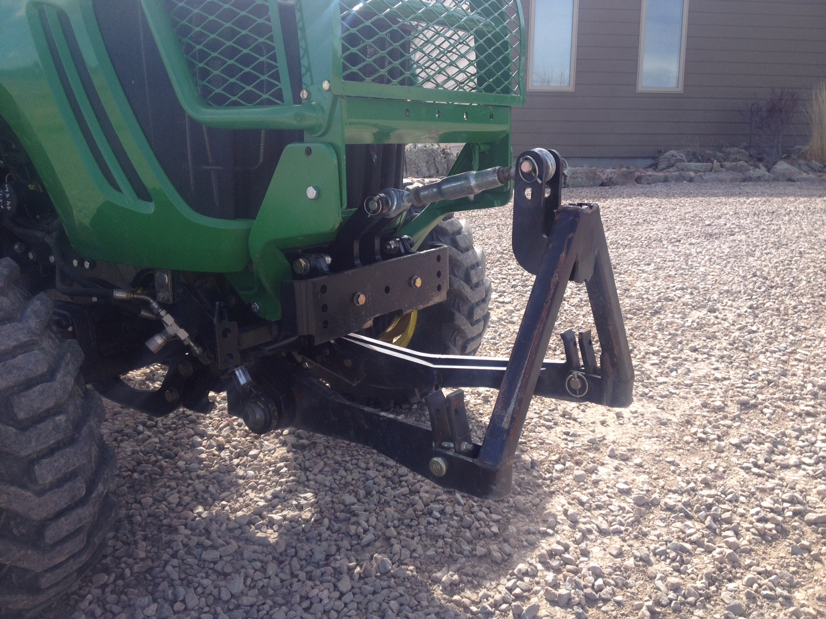 3x20 Front 3 Point Hitch For Sale