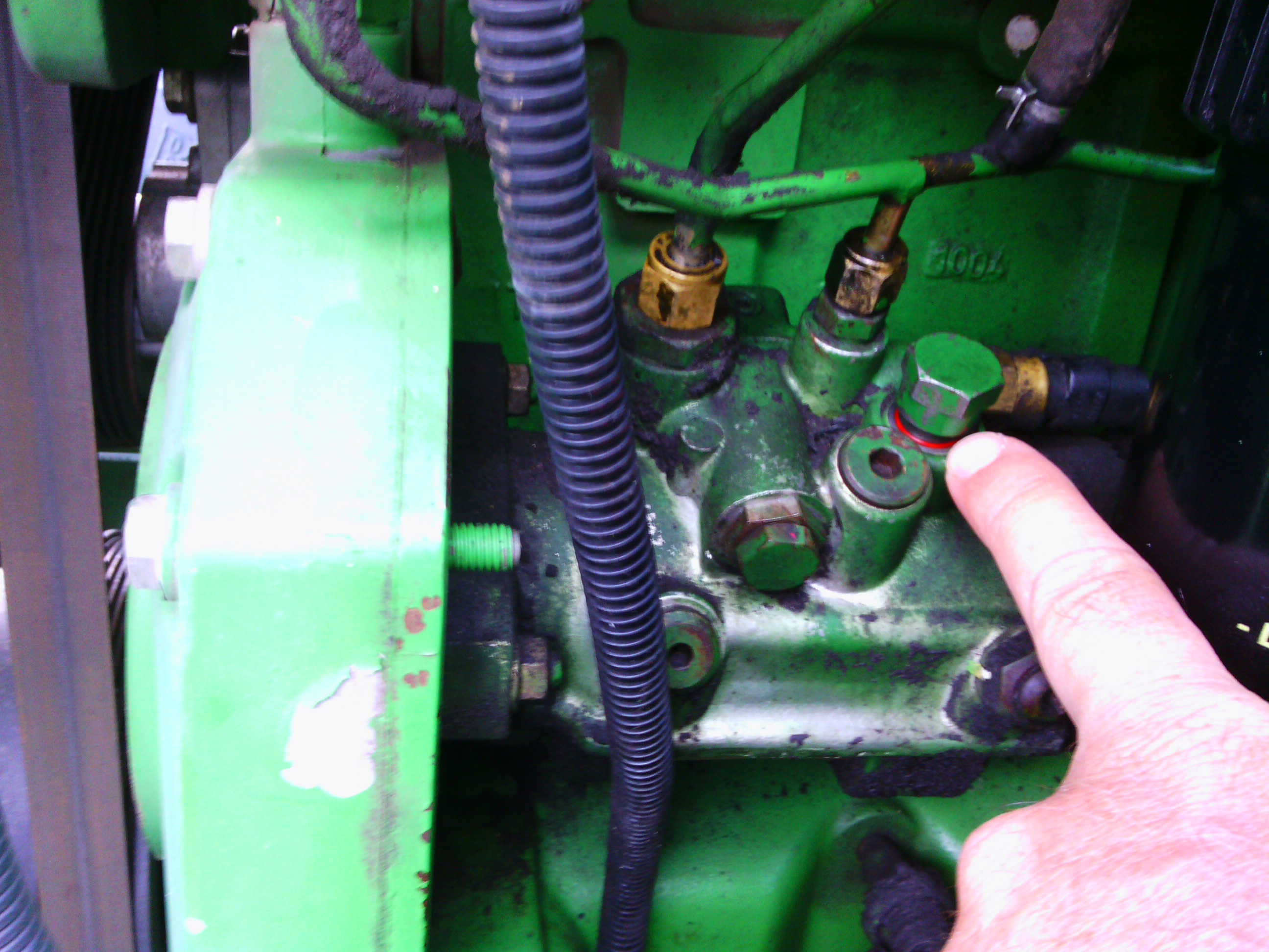 problem with JD 6420 injector pump