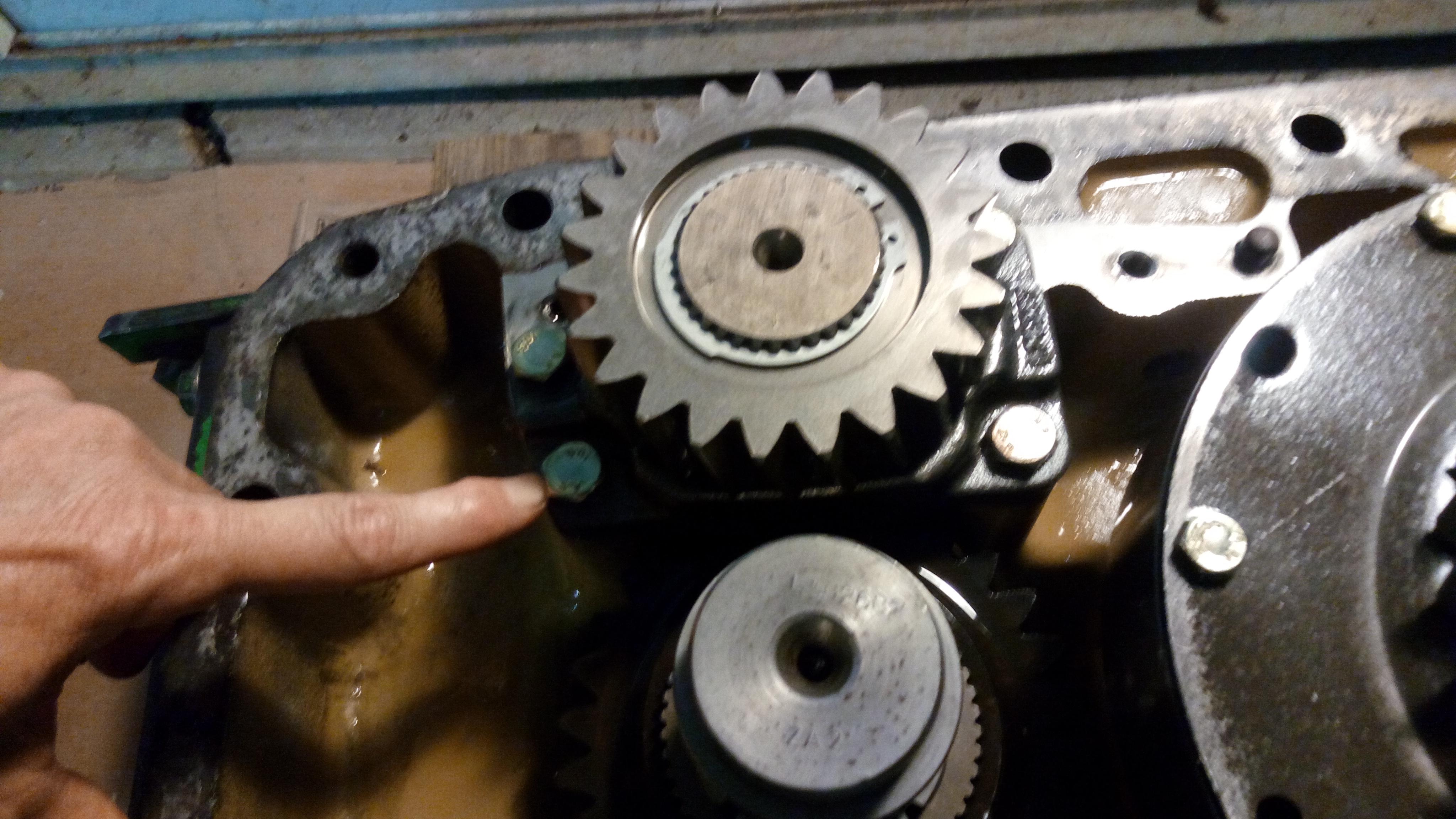 JD6400 PTO Repair
