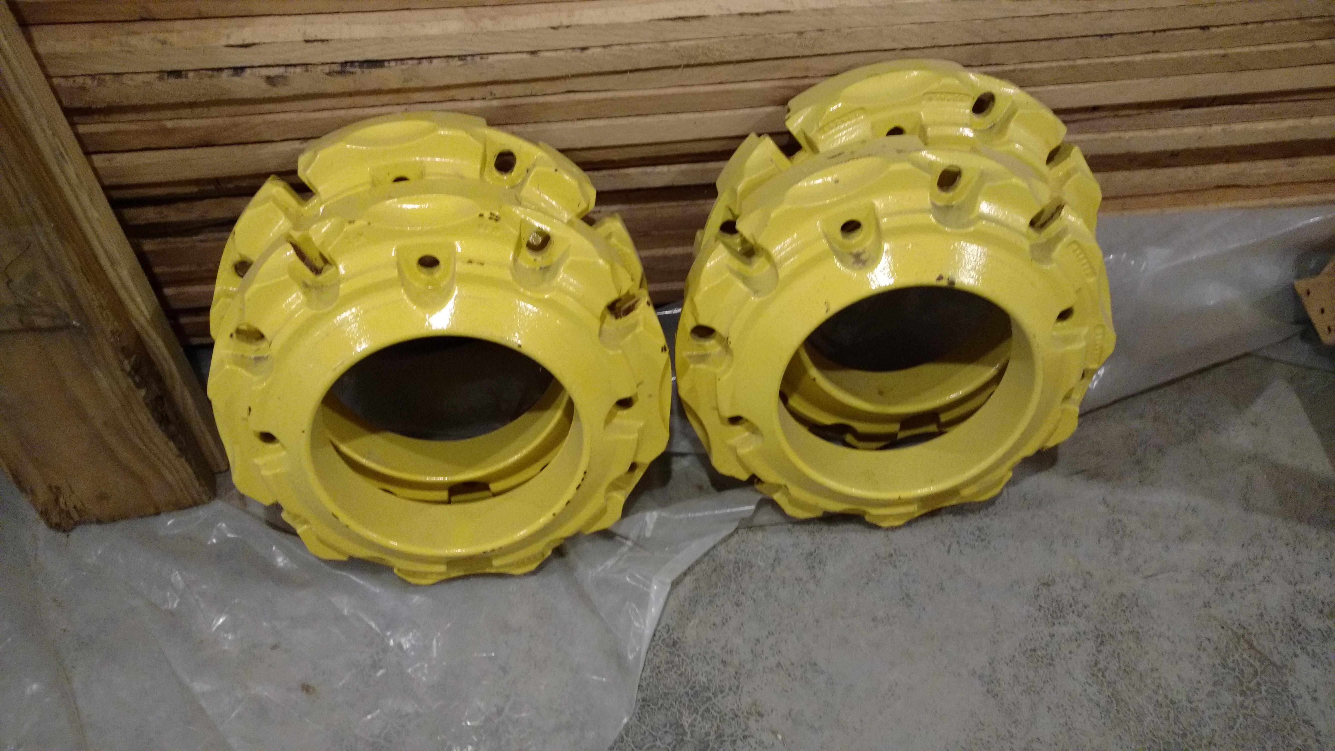 Used Tractor Wheel Weights : Series rear wheel weights