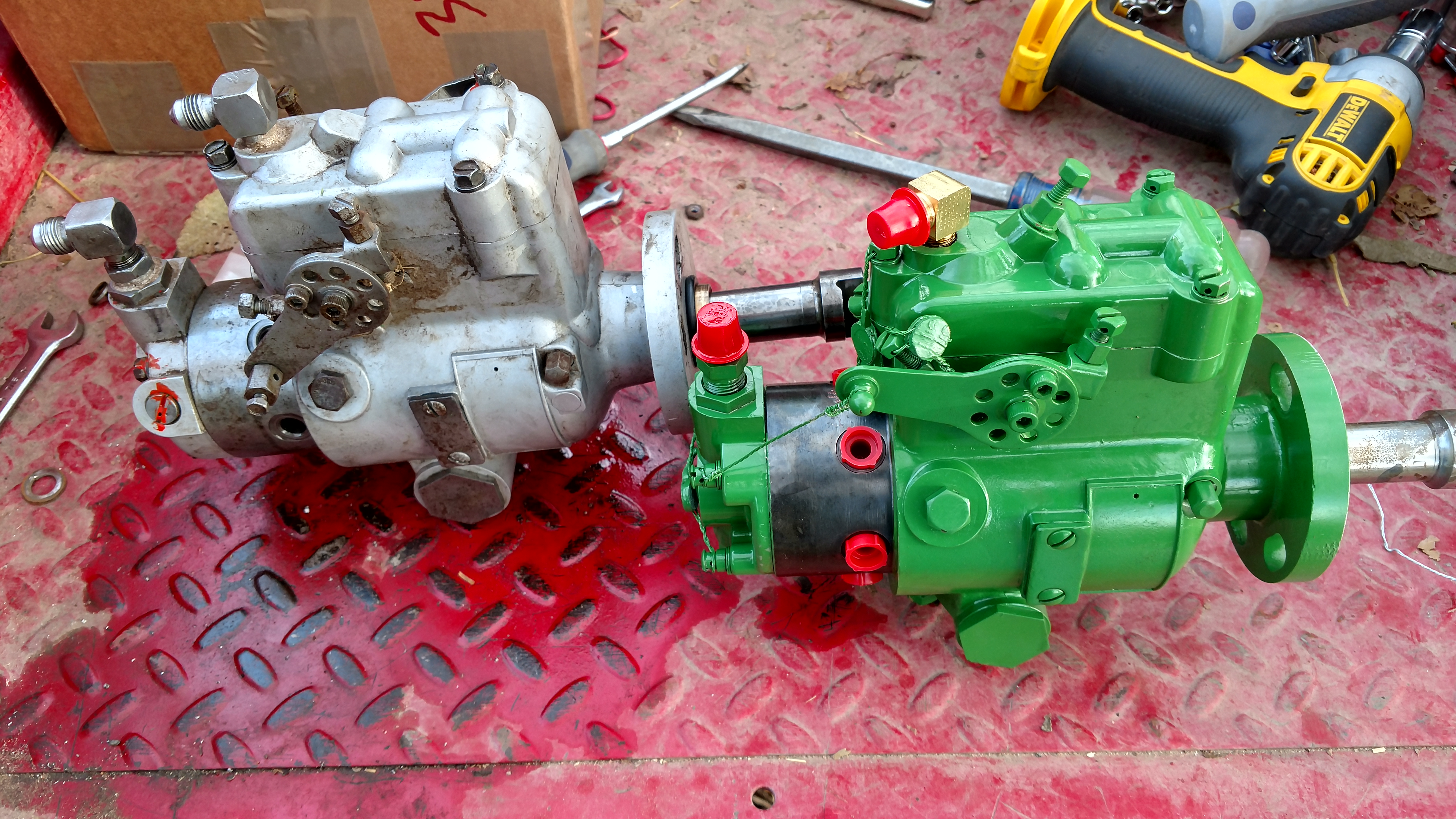 4010 injection pump issue