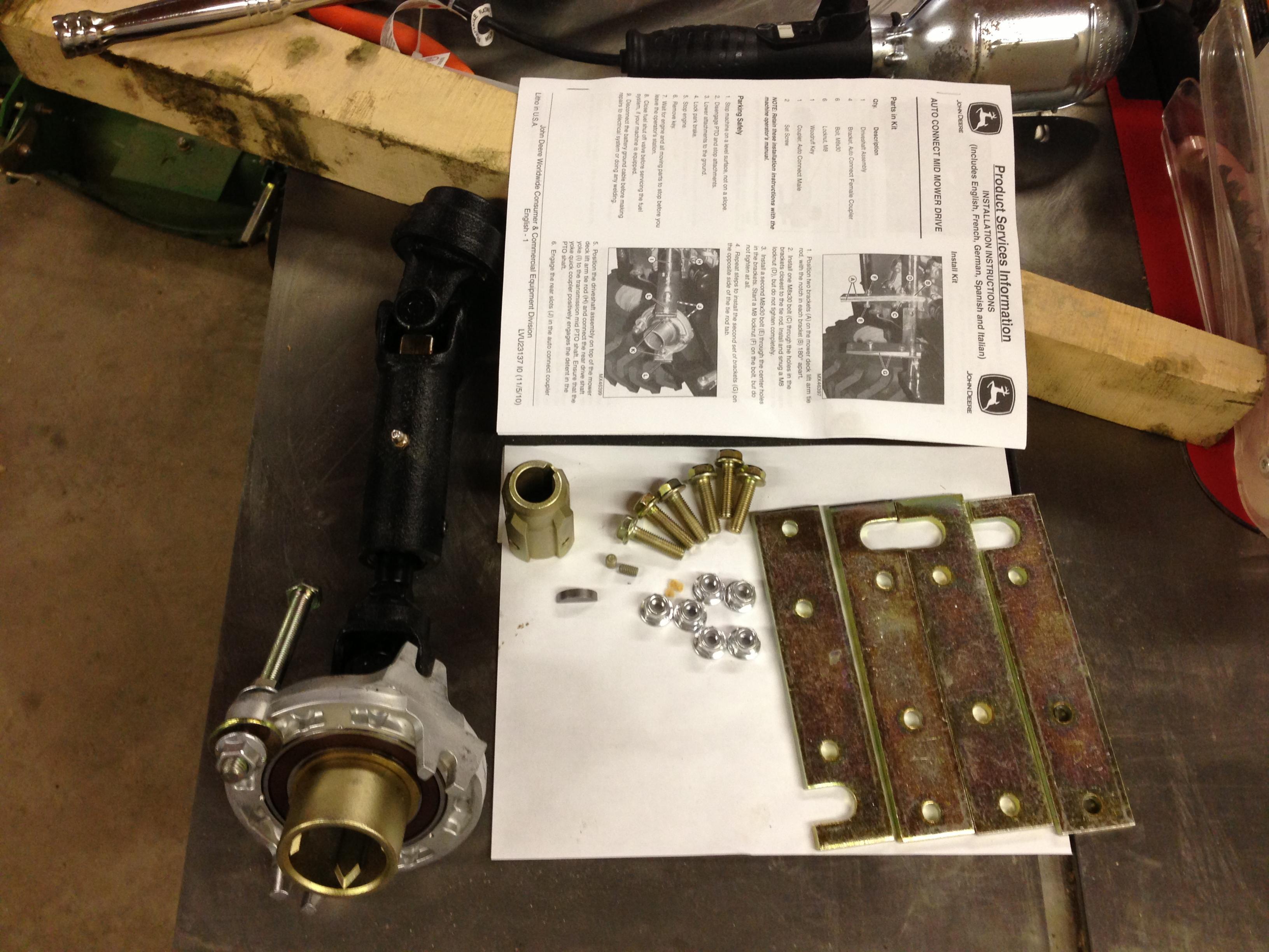 How To: Install AutoConnect PTO Driveshaft -- LVB26045 -- 1