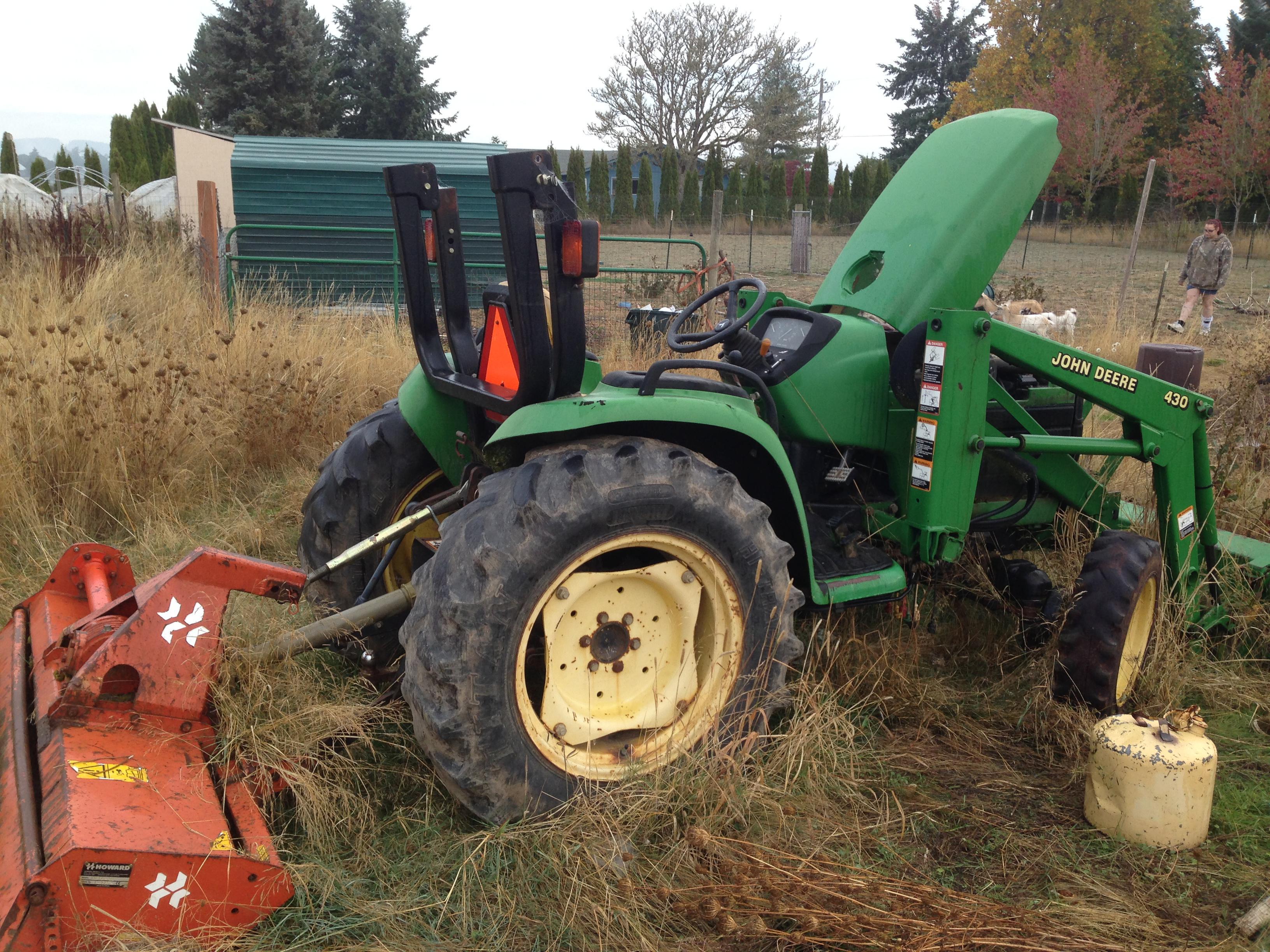 John Deere 4400 project tractor – John Deere 2320 Fuse Box