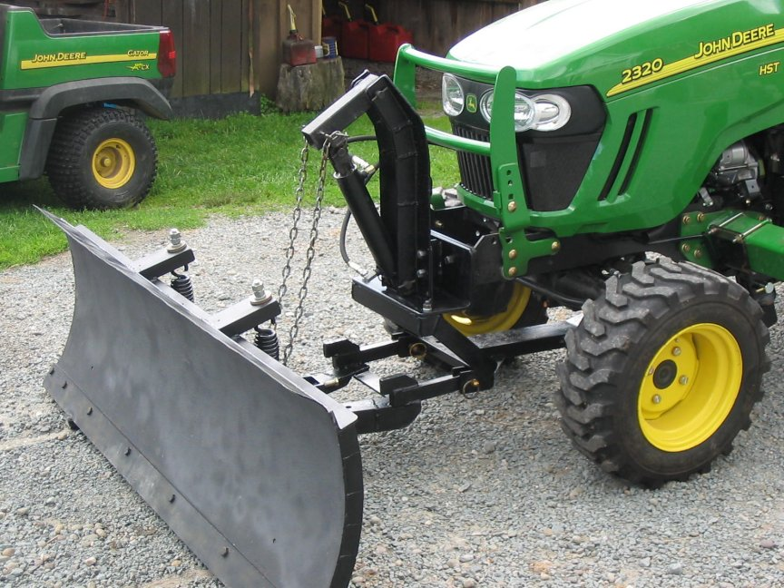 Front Mount Tractor Snow Plow : Revisiting snow blade conversation page