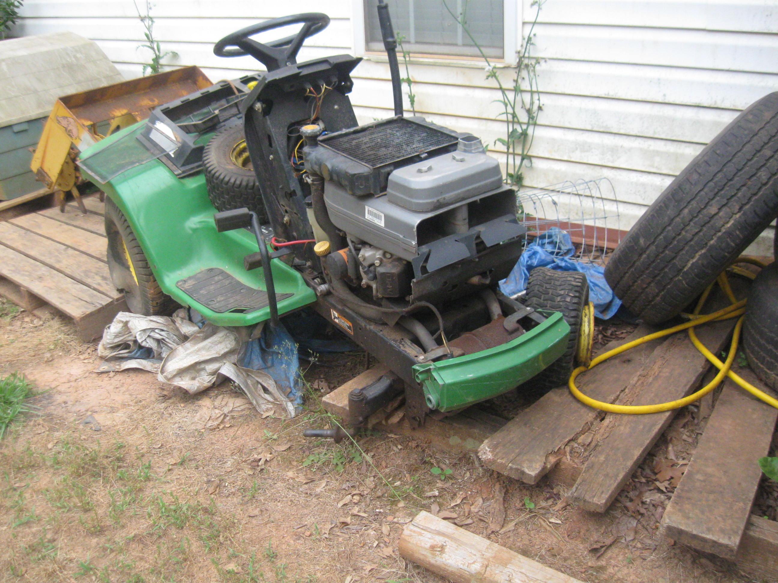 John Deere Lx188 Parts Machine