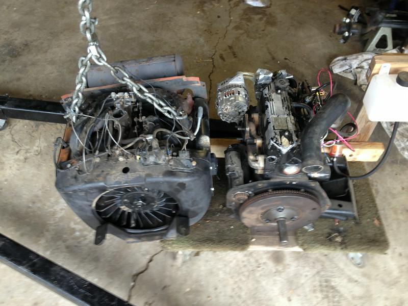 John Deere 400 Repower