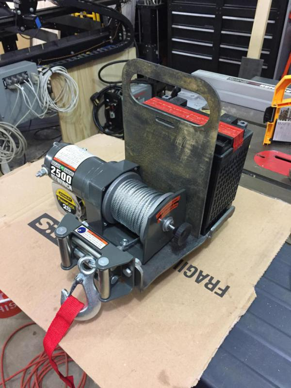 Harbor Freight Winch Project