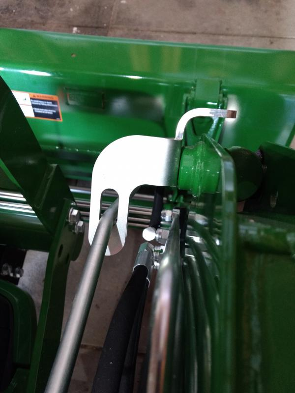 john deere bucket level indicator