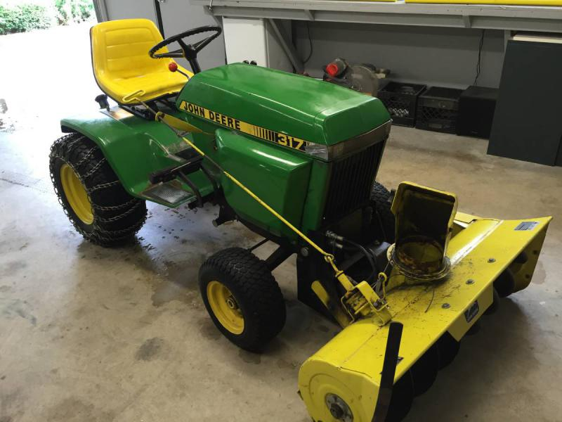 Looking At Purchasing A John Deere 317