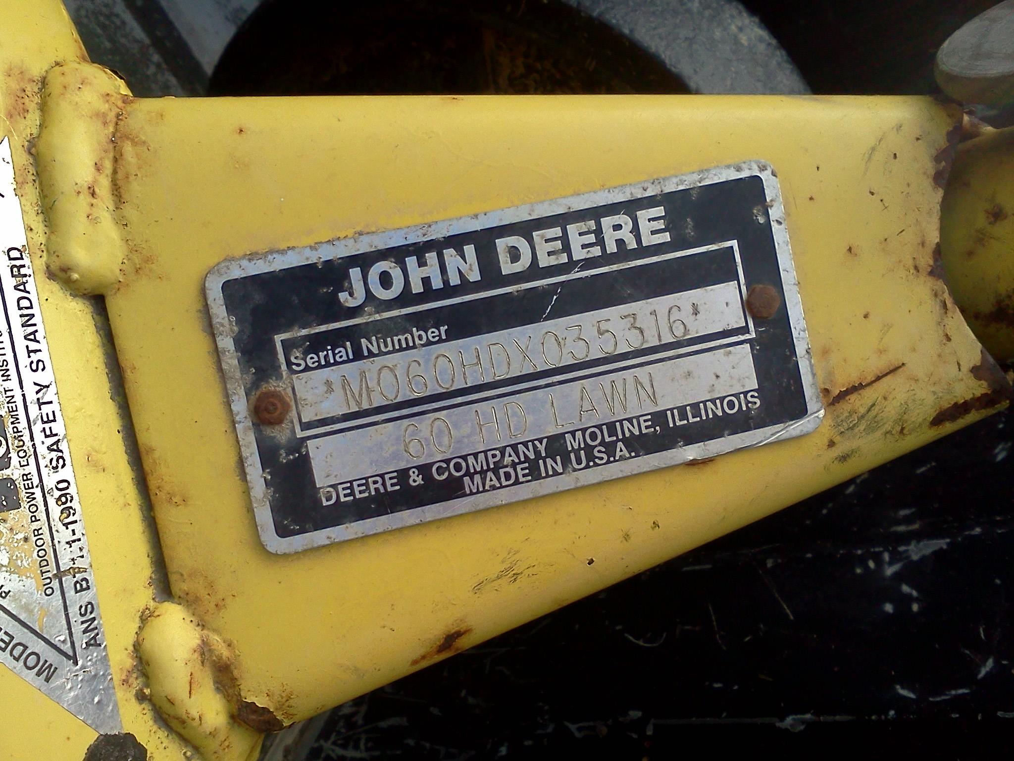 mower decks for a 425