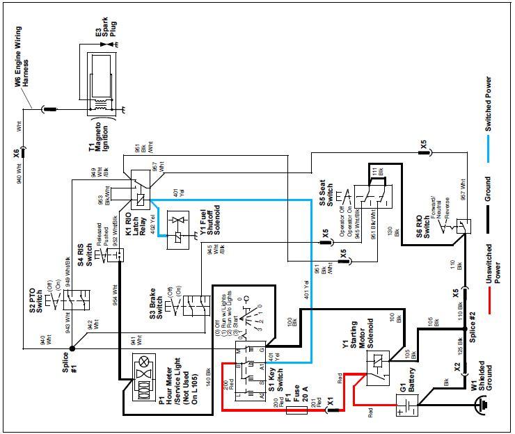 30 john deere la115 carburetor diagram
