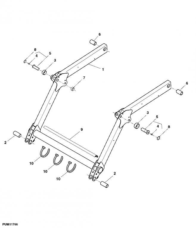 H120 Loader Parts Diagram