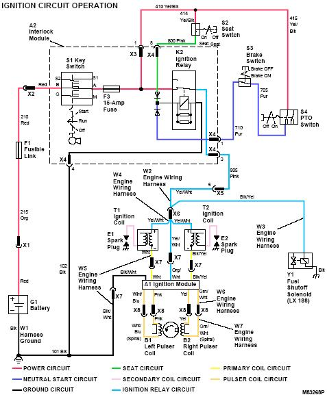 lx188 question john deere lx188 wiring schematic