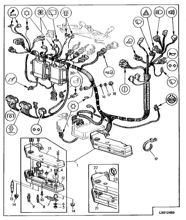 JD 6400 no electric power at all – John Deere 6400 Tractor Wiring Diagram