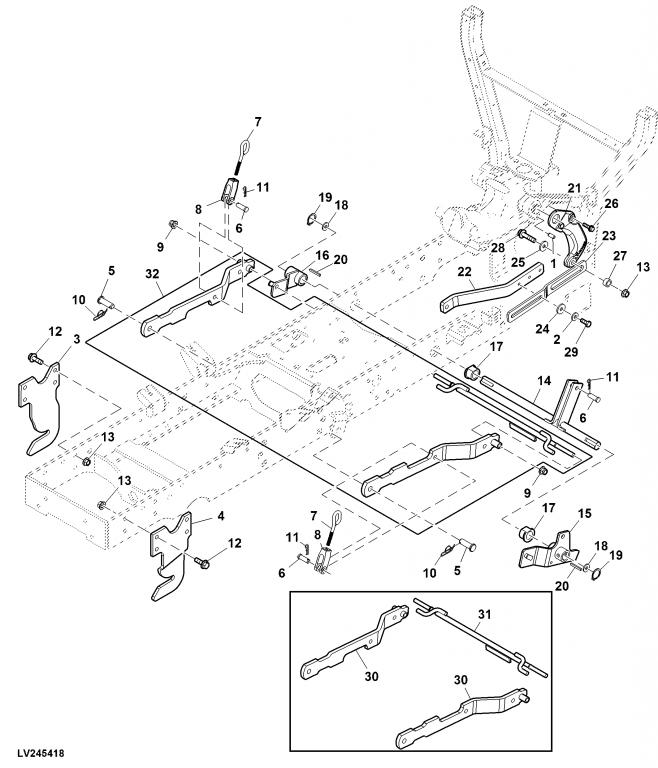 Click image for larger version.  Name:Mechanical Mower Lift Linkage.jpg Views:42 Size:71.2 KB ID:398057
