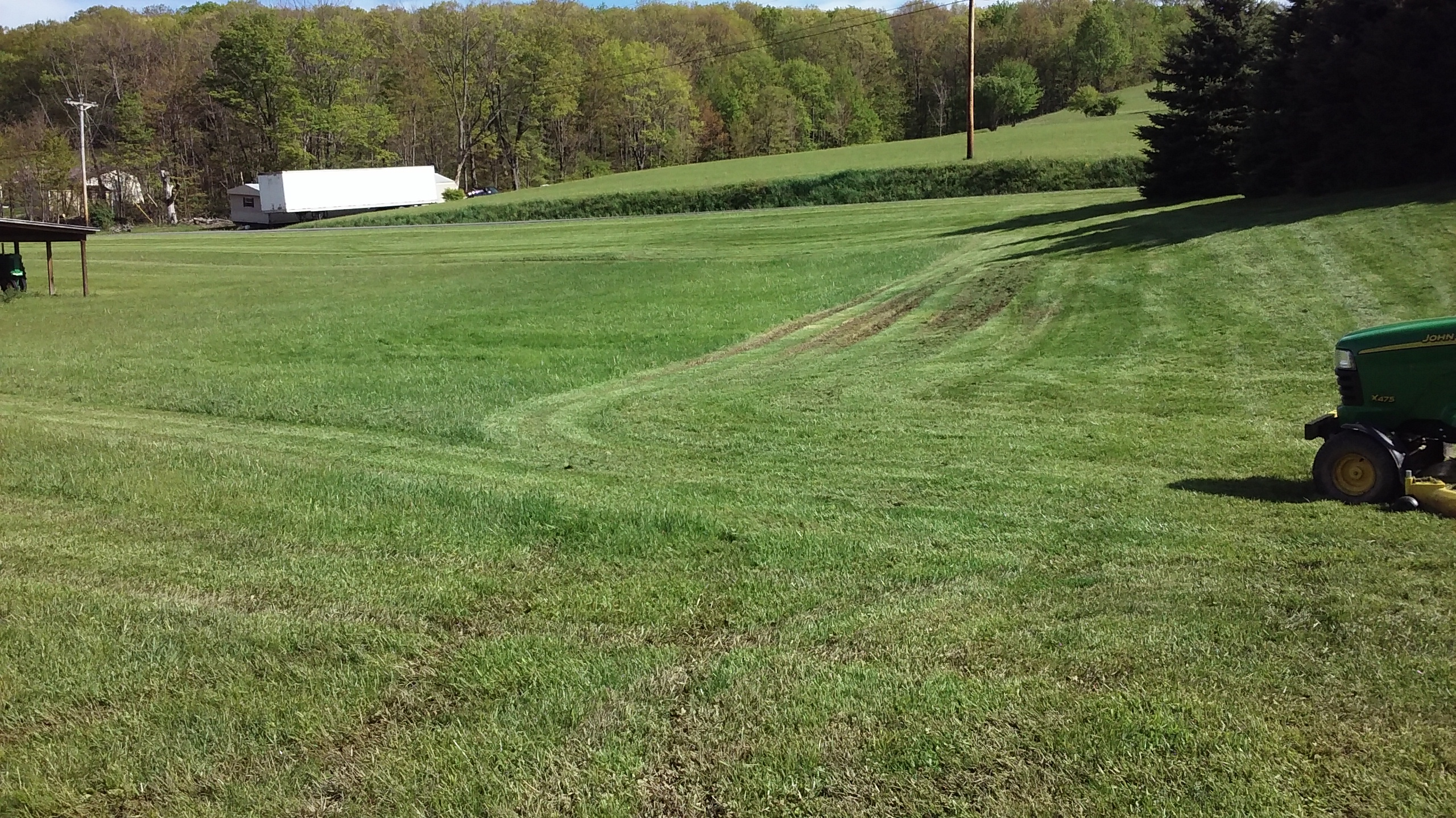 Click image for larger version.  Name:mowing when it was too wet-made tire marks in grass.jpg Views:7 Size:2.03 MB ID:365730