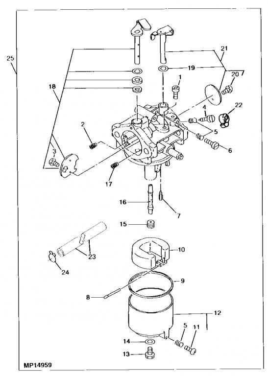 lx178 carburetor surging problem