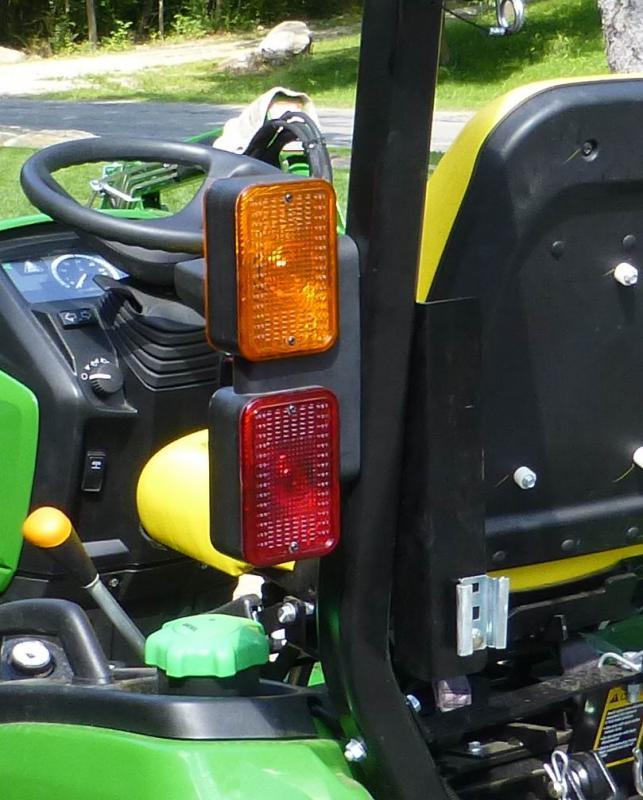 added led side marker lights to 1025r