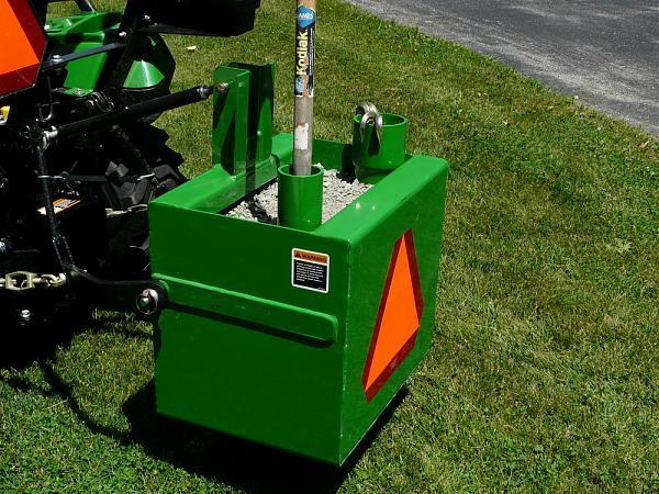 Tractor Ballast Box : Ballast box bw without i match