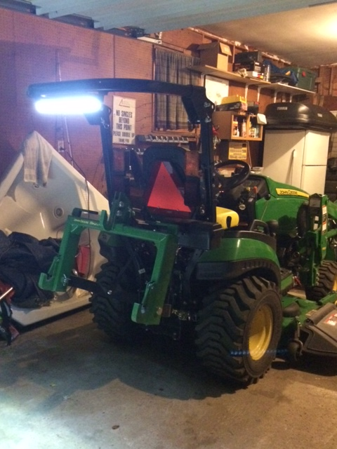 new curtis cab for 1025r need led work light recommendations