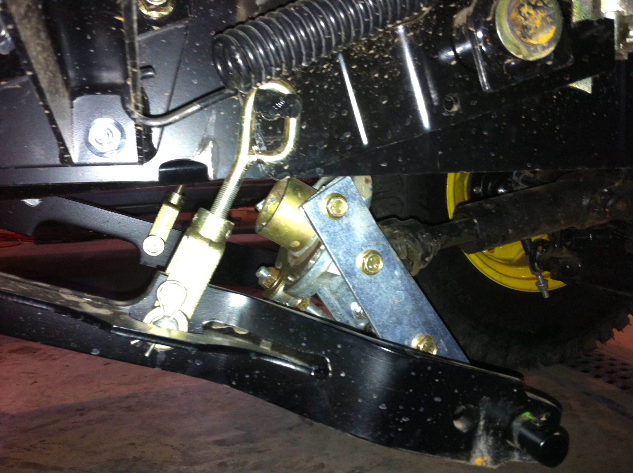 Shaft Shaft Tractor Power Take Off On Butter Fly : R mid pto angled up