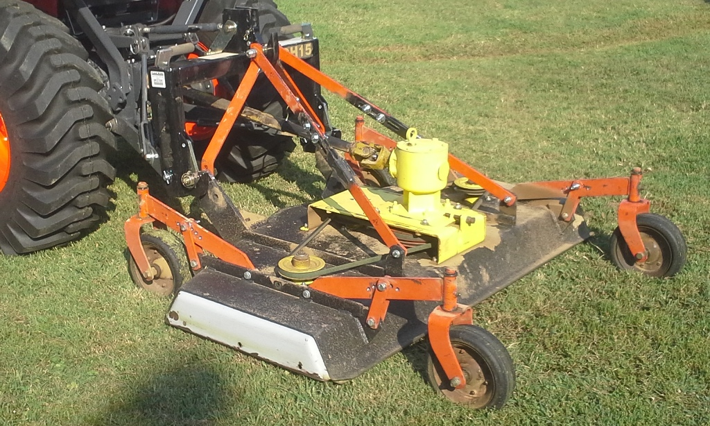 Quick Hitch Top Link : Befco point mower deck quick hitch modification v