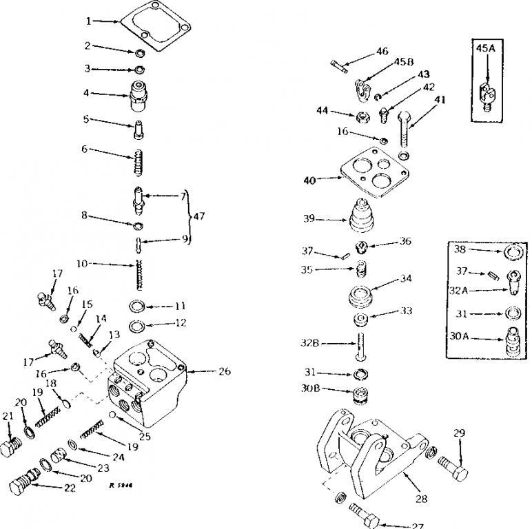 John Deere 4010 lpg hydraulic and 3 pt issue