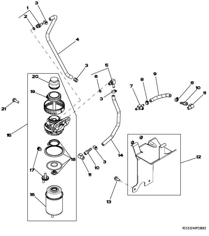 4720 fuel leak at primer plunger