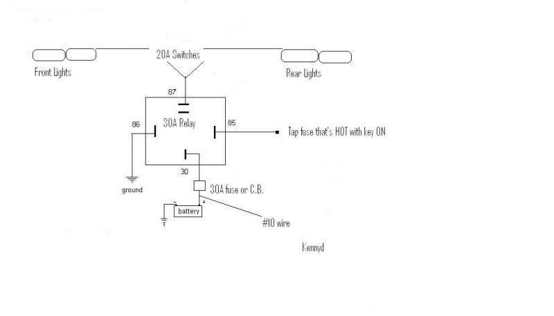 Light Bar Fuse Box Wiring Diagram from www.greentractortalk.com