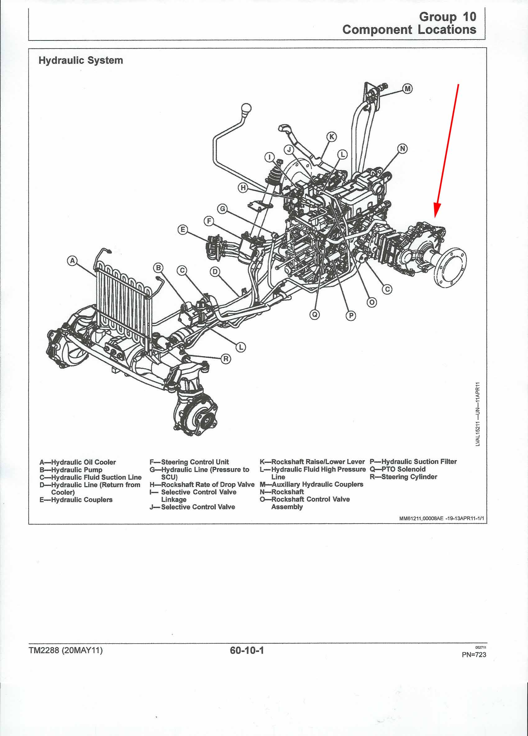 Compact 2520 rear axle removal