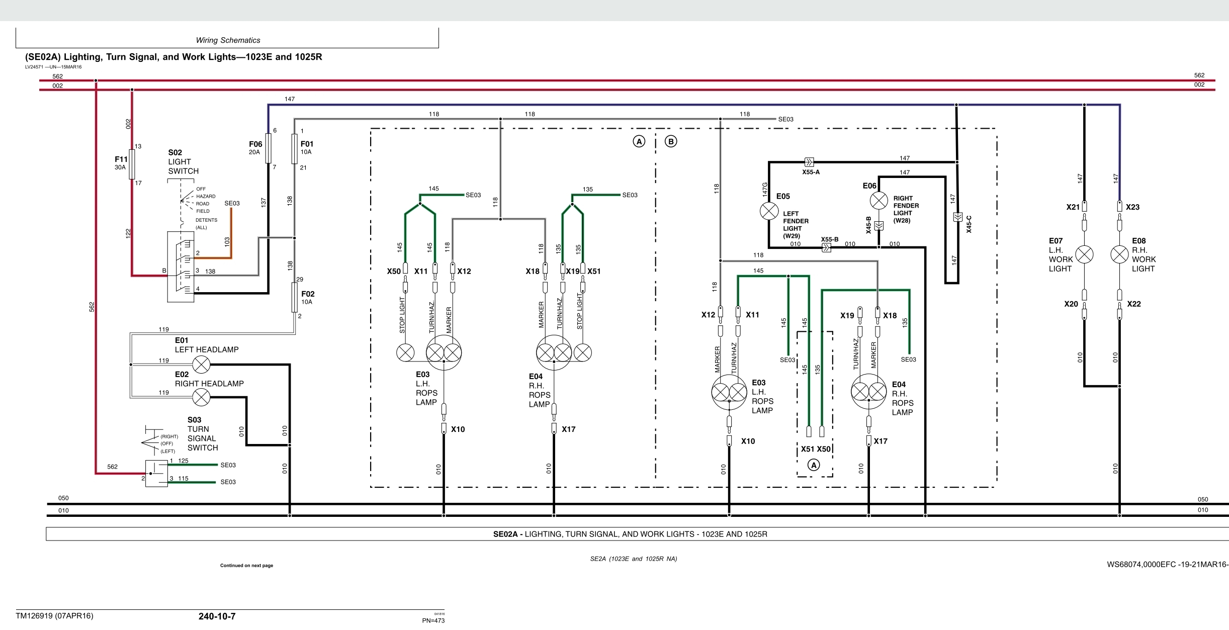 Work Light Wiring Diagram