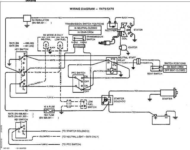 SRX75 No spark Weak Spark – Jd Wiring-diagram