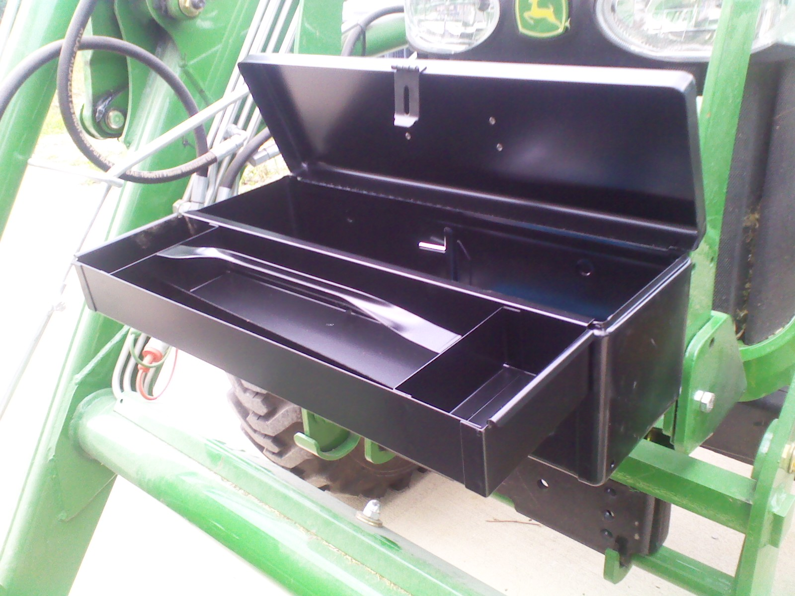 Tractor Fender Tool Box Mounted : New toolbox